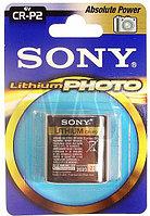 Батарейка фотолитиевая Sony CR-P2  6v  (made in USA)