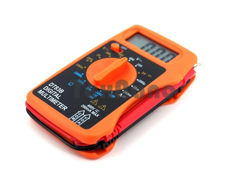 Цифровой карманный мультиметр DT83B mini