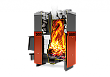Газо- дровянная печь Русь-12лу.(без горелки).Теплодар., фото 2