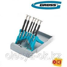 Набор отверток для точной механики, GROSS. 13346