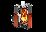 Газо-дровянная печь Русь-18лу.(без горелки).Теплодар., фото 2