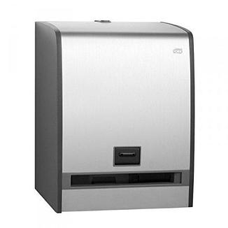 Диспенсер для полотенец Tork Aluminium 459500 с сенсором Intuition, фото 2