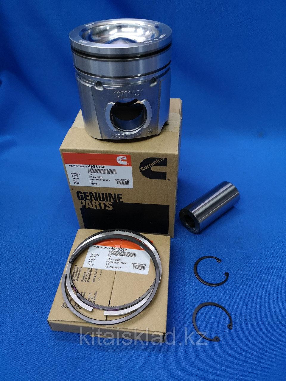 Поршень 4955160 QSB6.7 на один цилиндр (STD) CUMMINS