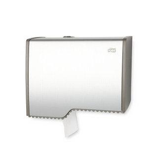 Диспенсер металлический для туалетной бумаги в мини рулонах Tork Aluminium 455000, фото 2
