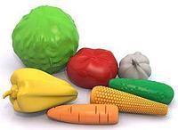 """Набор """"Овощи"""" 7 предм. сетка, фото 1"""