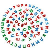"""Набор """"Первые уроки"""" на магнитах (86 букв) (в коробке)"""
