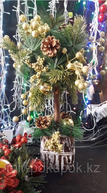Новогоднее настольное деревце 45 Алматы