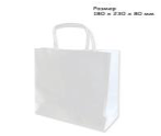 Пакет, Крафт Бумага, 180 x 230 x 80 мм