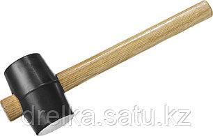 """Киянка ЗУБР """"МАСТЕР"""" резиновая черная с деревянной ручкой, 230г, фото 2"""