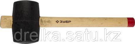 """Киянка ЗУБР """"МАСТЕР"""" резиновая с деревянной ручкой, 0,68кг, фото 2"""