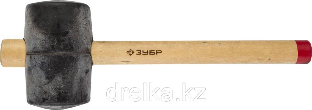 """Киянка ЗУБР """"МАСТЕР"""" резиновая с деревянной ручкой, 0,9кг"""