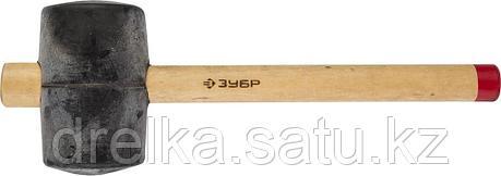 """Киянка ЗУБР """"МАСТЕР"""" резиновая с деревянной ручкой, 0,9кг, фото 2"""