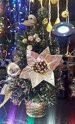Новогодняя настольная елка  35 см Алматы