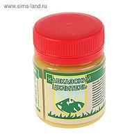 Мазь Кавказская растирка на основе барсучьего жира от кашля, 40 мл.