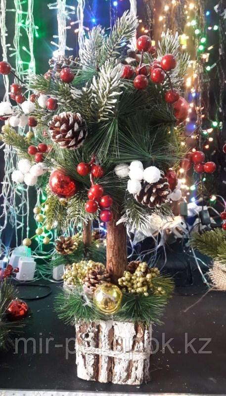 Новогоднее настольное деревце  45 см Алматы