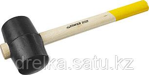 Киянка STAYER резиновая, с деревянной рукояткой, 0,34кг, фото 2