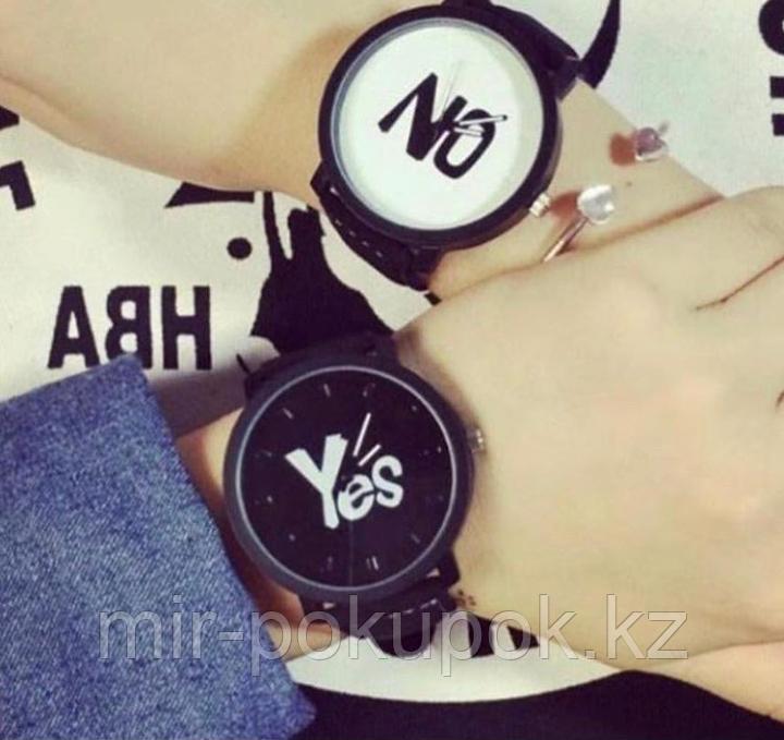 Часы парные Yes & No,