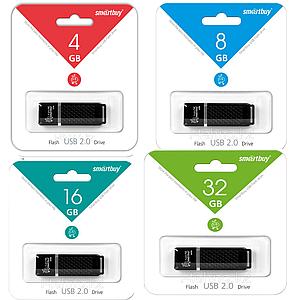 Флешка ОРИГИНАЛ  Smartbuy USB flash 4 8 16 32 GB