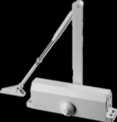 Доводчик дверной ЗУБР, для дверей массой до 100кг (белый), фото 2