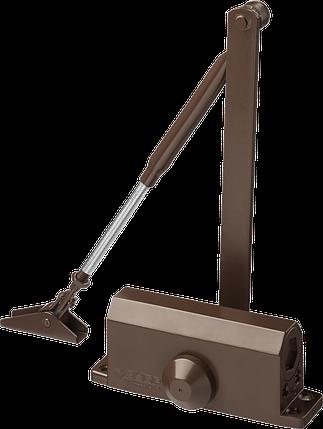 Доводчик дверной ЗУБР, для дверей массой до 80кг (коричневый), фото 2
