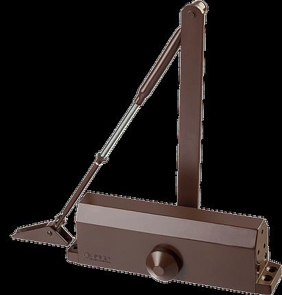 Доводчик дверной ЗУБР, для дверей массой до 100кг (коричневый), фото 2