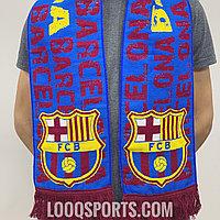 Футбольный шарф Барселона