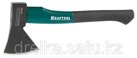 """Топор KRAFTOOL """"EXPERT"""" плотницкий, с эргономичной двухкомпонентной фиберглассовой рукояткой, длина 360мм, фото 2"""