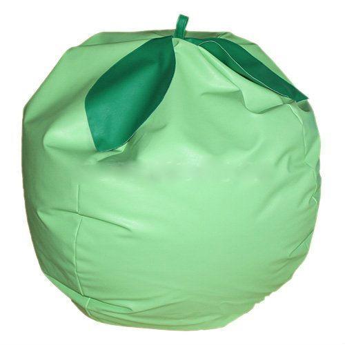 Пуф «Яблоко» (гранулы, крошка поролон)