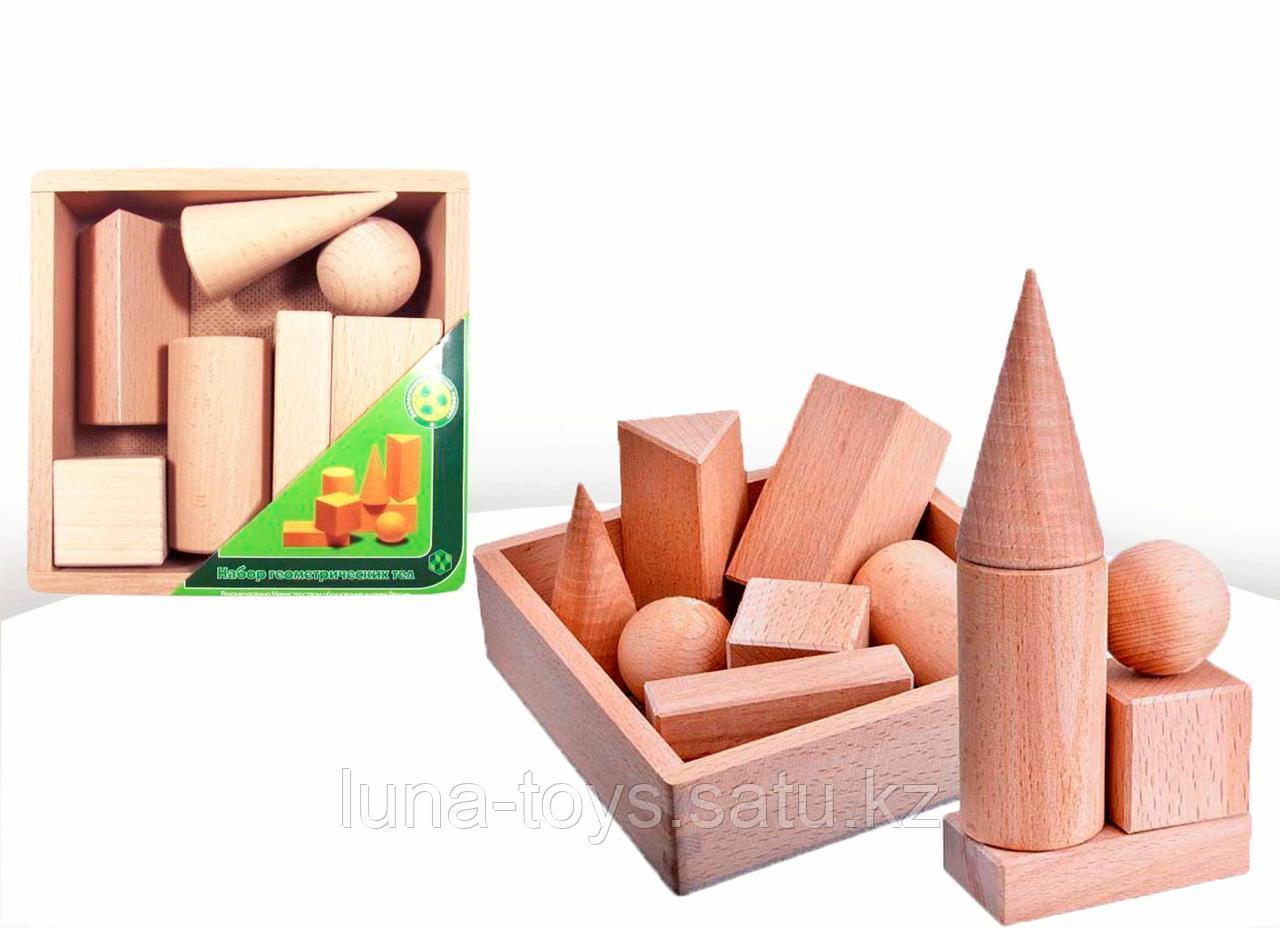 Набор геометрических тел, 7 деталей