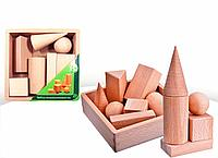 Набор геометрических тел, 7 деталей, фото 1