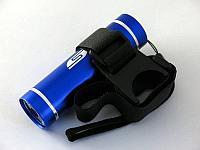 Велосипедный светодиодный фонарь SOLARIS T-5V синий (3109blue)