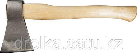 Топор ЗУБР кованый с деревянной рукояткой, 1,0кг (голова-0,8кг), фото 2