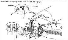 Транец для лодки под мотор, Intex 68624, фото 3