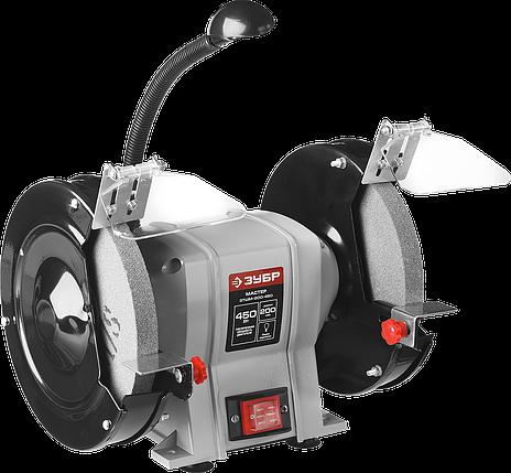 Станок точильный, ЗУБР ЗТШМ-200-450, d200 мм,  450 Вт, фото 2
