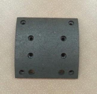 Накладка колодки тормозной задней 180*183 8 отв.