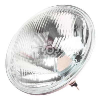 Оптика фары головного света  (вакуум-фара) металлический корпус SHAANXI F3000