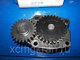 Насос масляный D15-109-41/D15-000-41+C Shanghai 6114/LW500, фото 2