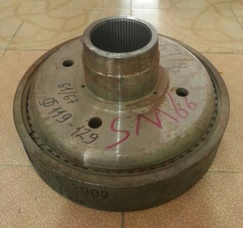 Шестерня солнечная бортового редуктора ZL50G 2007 61-67зуб 119-129 дм