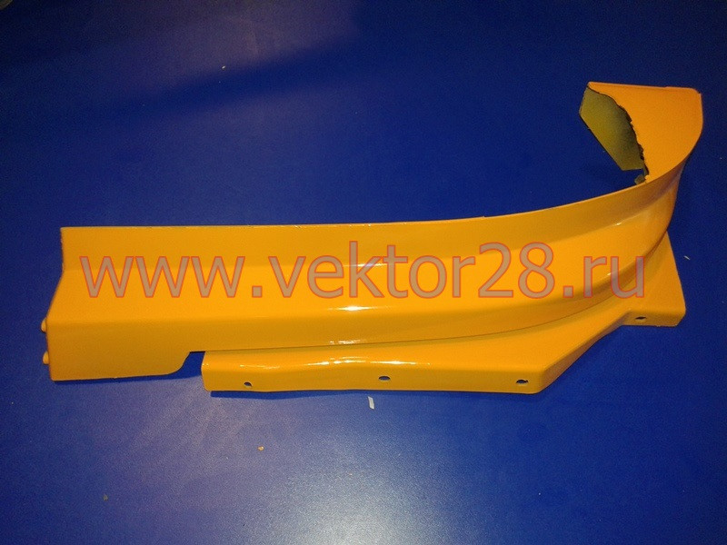 Накладка над бампером (ресничка) F3000 DZ93259932182