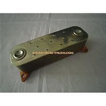Радиатор масляный (теплообменник)  WD618 (9 секций) 61800010113