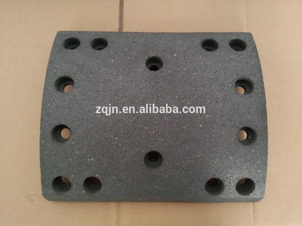Накладка тормозная задняя 14 отверст. (10ммХ220мм)  WG9231342068 HOWO