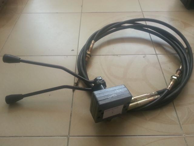 Переключатель скорости с тросом 2,4м XCMG LW500FK