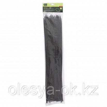 Хомуты 500 х 4,8 мм, 50 шт. черные. Сибртех, фото 2