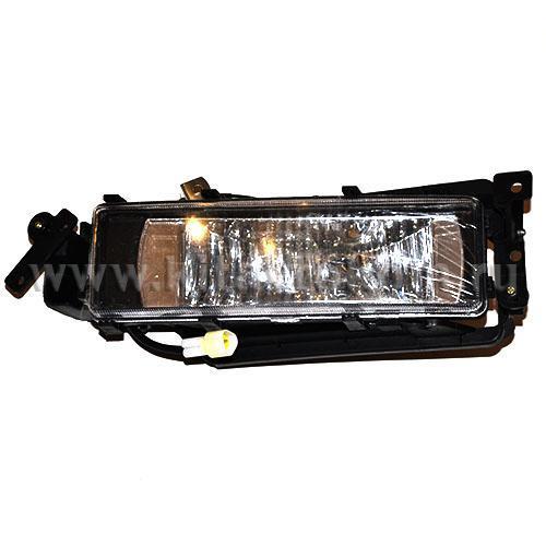Фара противотуманная правая DZ9100726040 F2000 (пластик) Shaanxi