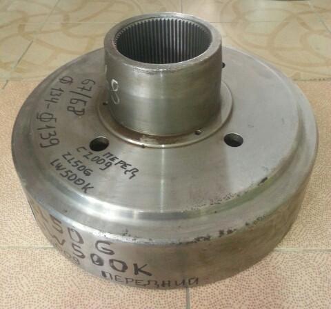 Шестерня солнечная бортового редуктора LW500 с2009 67-68 зуб