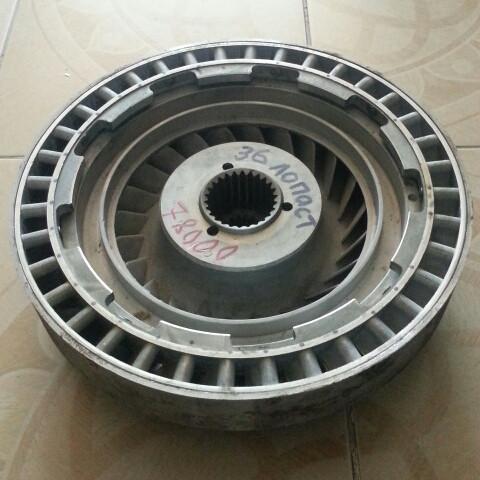 Ротор турбины гидротрансформатора КПП  4110000217005, YJ2804A10000 (36 лопастей)