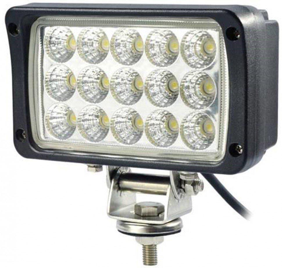 Фара рабочего света светодиодная-прямоугольная  LED