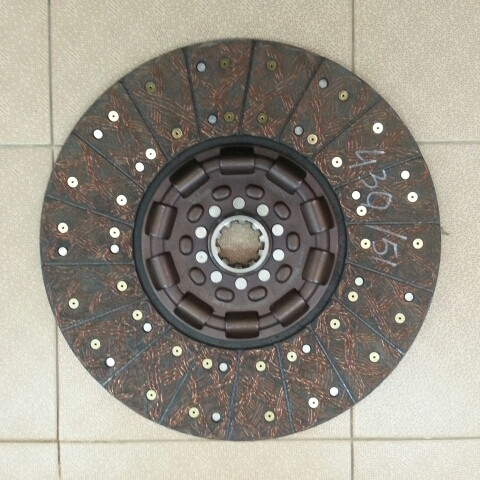 Фередо (диск сципления в сб.)  430Х50.8 простой