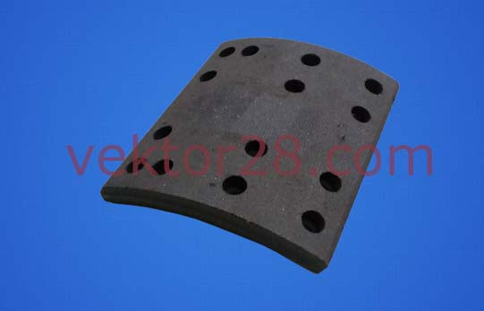 Накладка тормозная  задняя (Самосвал карьерный) AZ9761340103/04