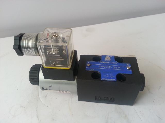 Электромагнитный гидравлический распределитель 4WE4D Кран QY